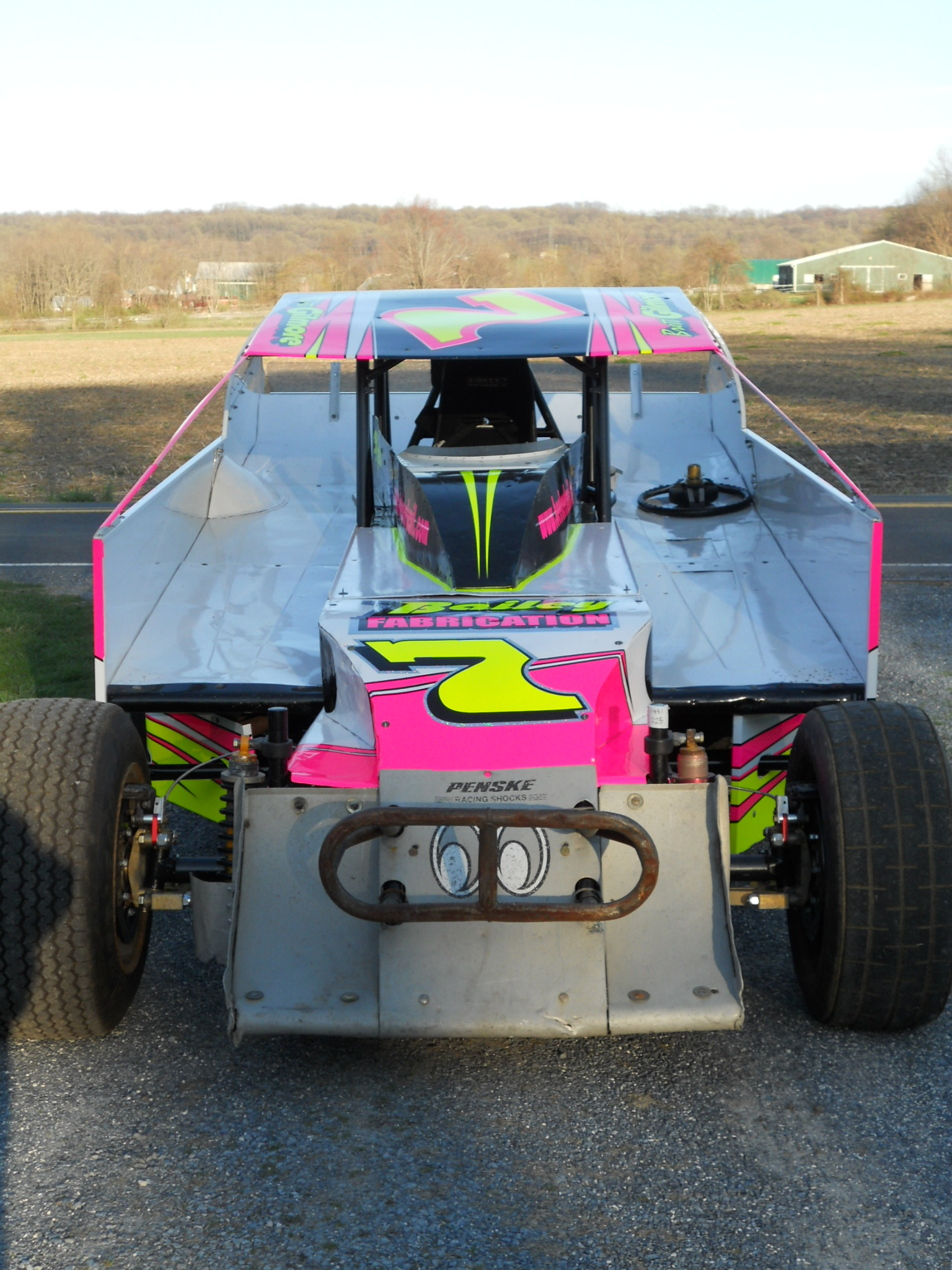 Third Generation Dirt Modified Driver Gets Set for Action