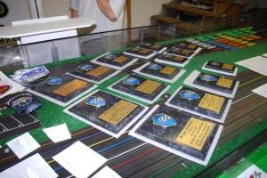 Rookie division plaque awards